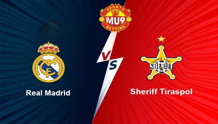 Real Madrid vs FC Sheriff Tiraspol