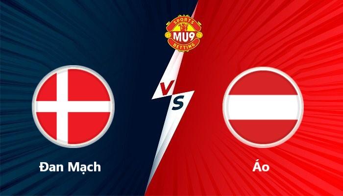 Đan Mạch vs Áo