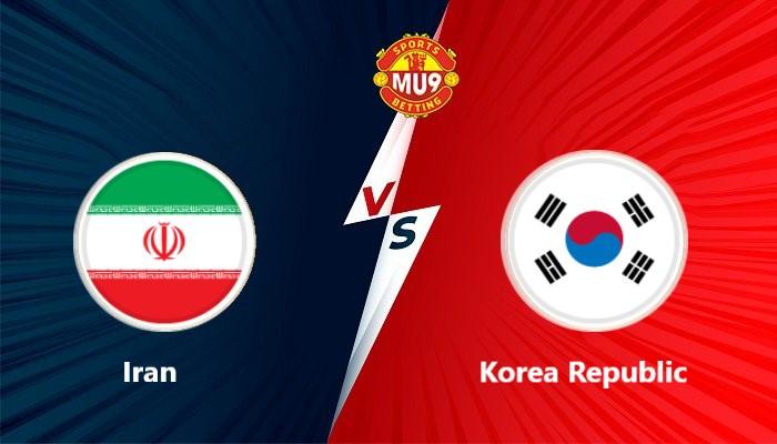 Iran vs Korea Republic