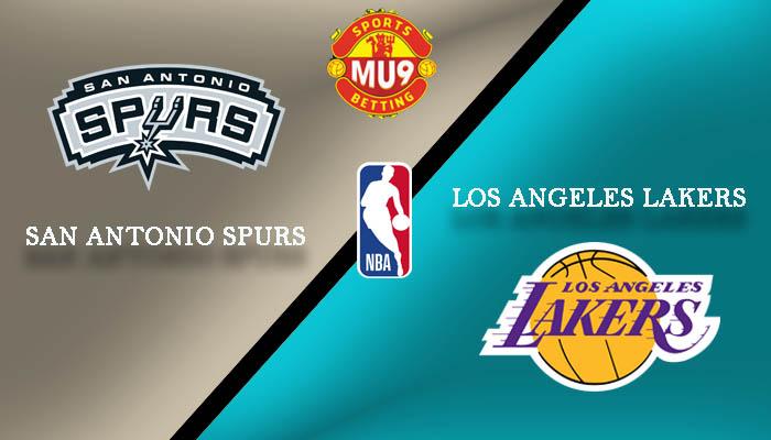 San Antonio Spurs vs Los Angeles Lakers