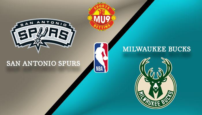 San Antonio Spurs vs Milwaukee Bucks