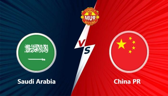 Saudi Arabia vs China PR
