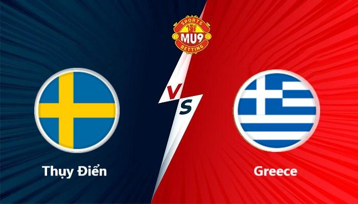Thụy Điển vs Greece