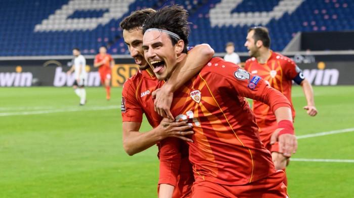 Bắc Macedonia vs Đức